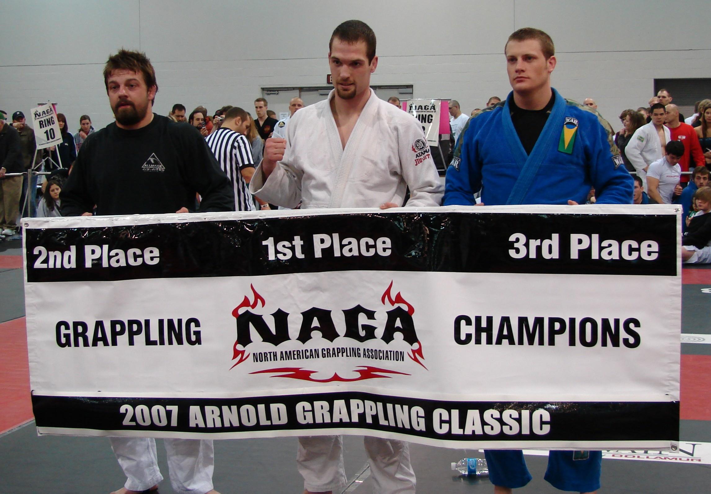 IBJJA's Jesse Chilton with 1st place win at NAGA-Arnold Worlds