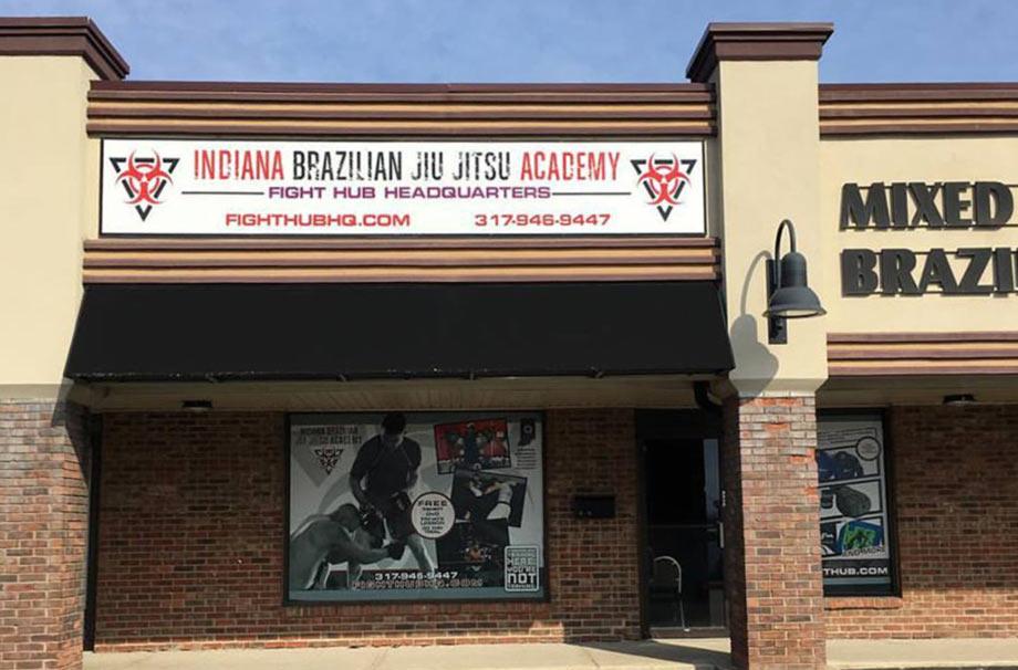 Indiana Brazilian Jiu-Jitsu Academy Storefront