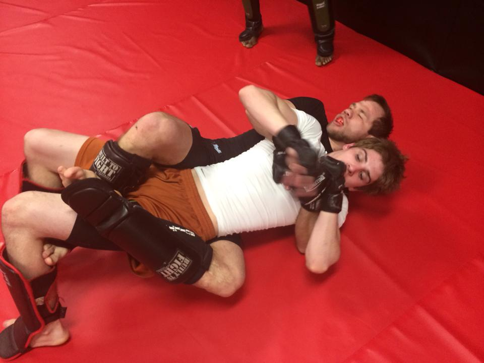 Photo of Mixed Martial Arts sparring at Indiana Brazilian Jiu-Jitsu Academy