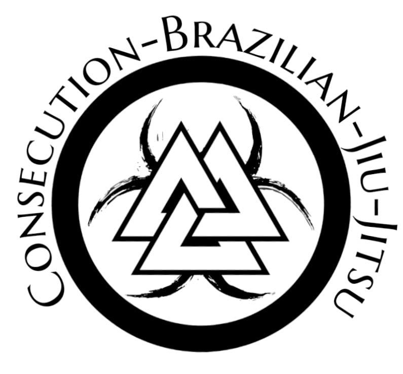 Consecution Jiu-Jitsu logo, academy in Austinburg, Ohio.