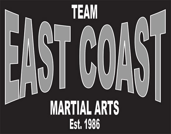 East Coast Martial Arts Logo, academy in Canton, Ohio.