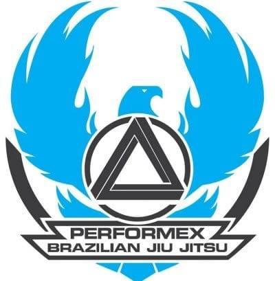 Performex Martial Arts Logo, academy in Brownsburg, Indiana.