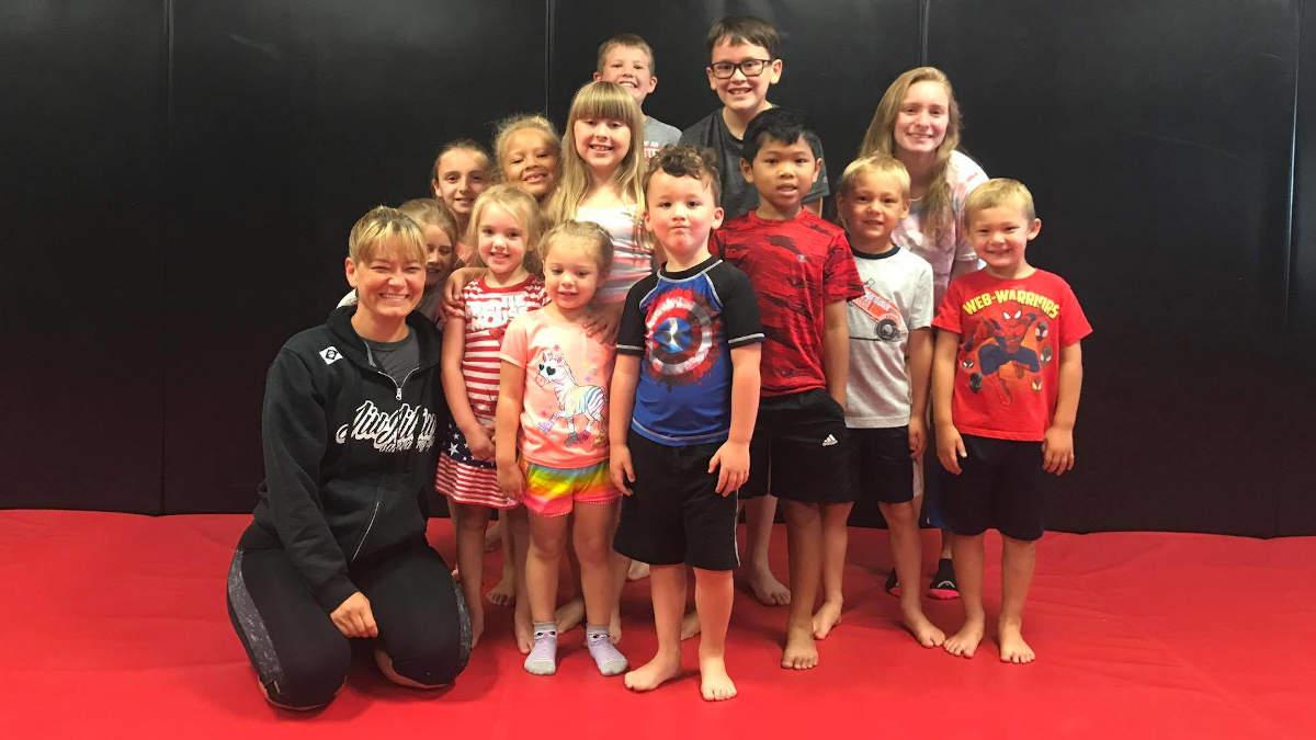 Photo of the kids of Indiana Brazilian Jiu-Jitsu Academy