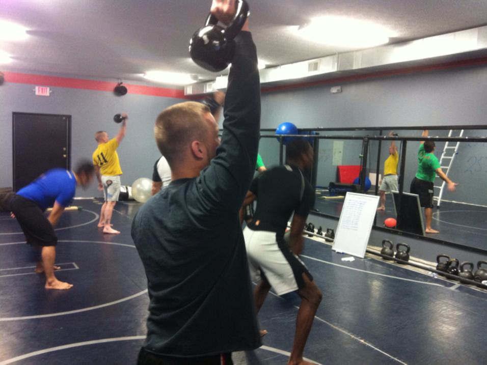 Photo of the Combat Conditioning class at Indiana Brazilian Jiu-Jitsu Academy