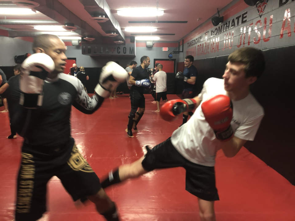 Photo of Kickboxing class at Indiana Brazilian Jiu-Jitsu Academy