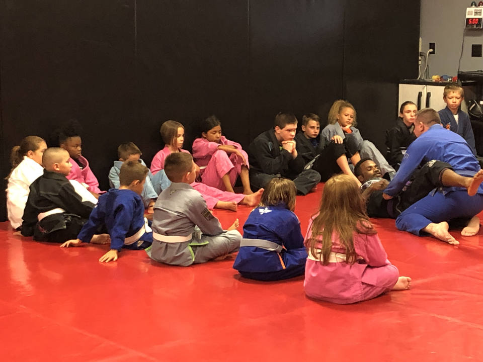 Photo of Kids' Brazilian Jiu-Jitsu class at Indiana Brazilian Jiu-Jitsu Academy