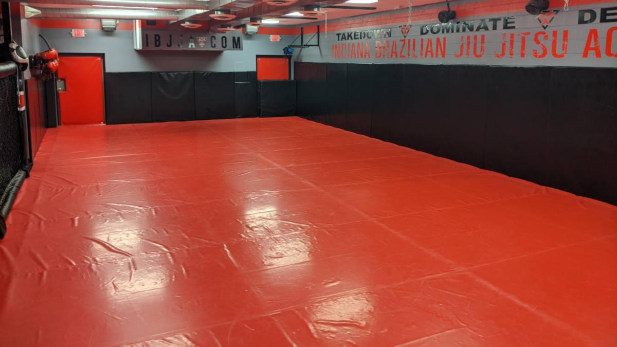 Photo of Mat 1 at Indiana Brazilian Jiu-Jitsu Academy