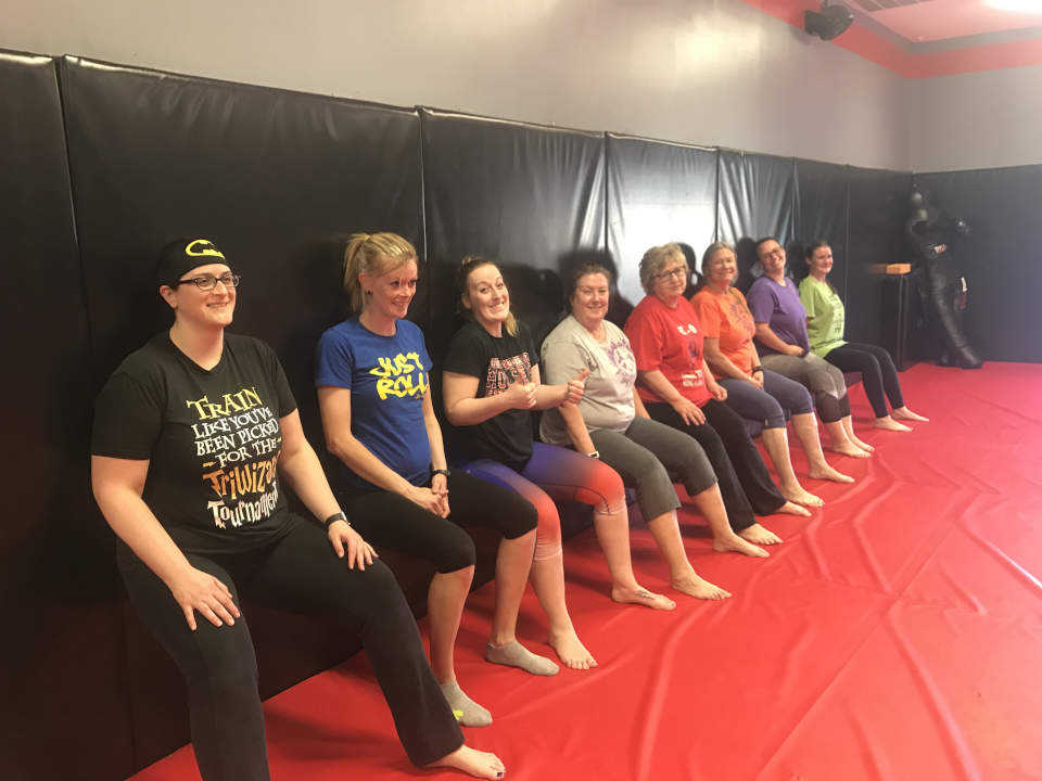 Photo of Women's-Only Bootcamp class at Indiana Brazilian Jiu-Jitsu Academy