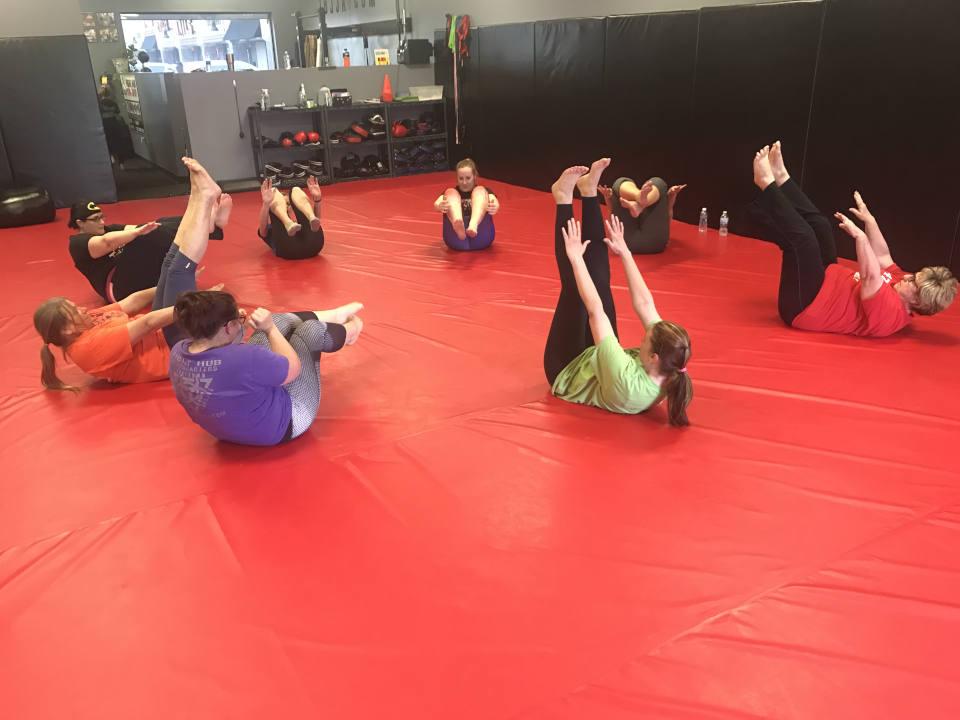 Photo of Women's-Only Bootcamp class at Indiana Brazilian Jiu-Jitsu Academy
