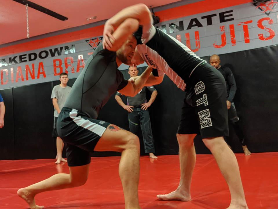 Photo of the Wrestling class at Indiana Brazilian Jiu-Jitsu Academy