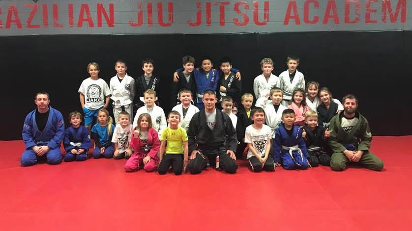 Photo of the kids of Indiana Brazilian Jiu-Jitsu Academy