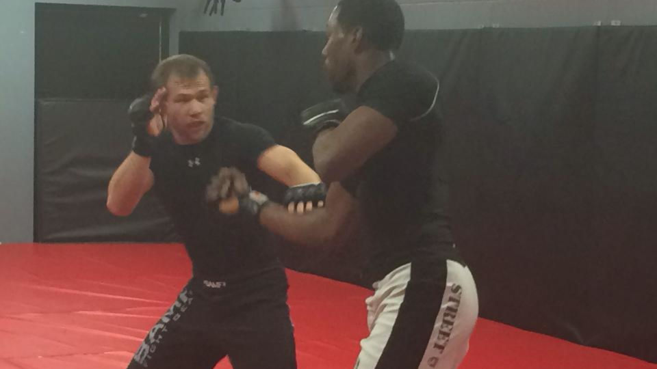 Photo of Mixed Martial Arts sparring at Indiana Brazilian Jiu-Jitsu Academy