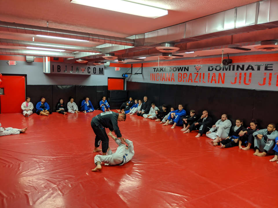 Photo of Brazilian Jiu-Jitsu class at Indiana Brazilian Jiu-Jitsu Academy