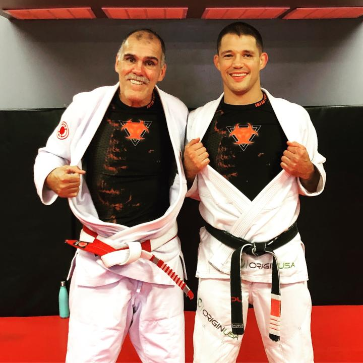 Photo of James Clingerman and Master Anibal Braga